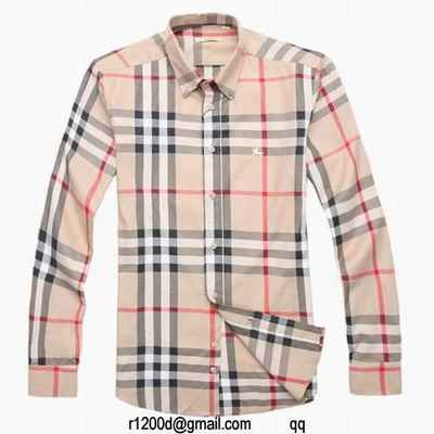 fb186f10a61 fausse chemise burberry homme