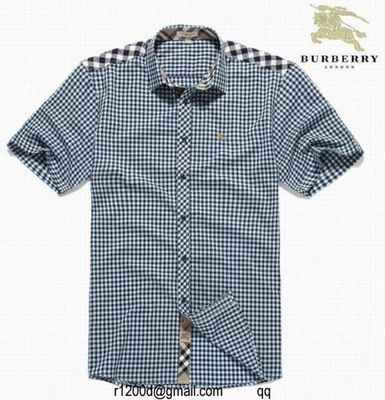 chemise Nouvelle Collection Burberry Luxe Marque Homme