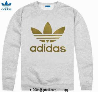 sweat shirt a capuche homme adidas